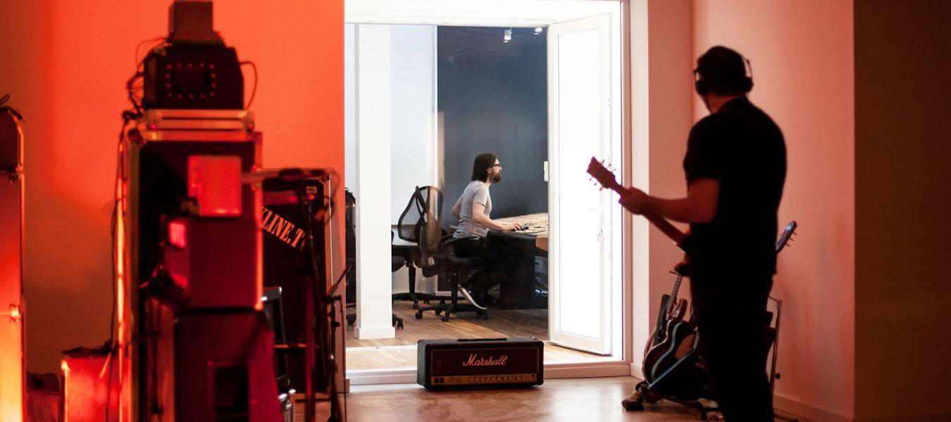 Tonstudio TRESOHR Studios Content Slider 8